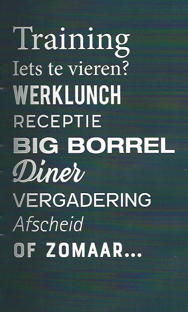 """U bent altijd welkom bij ons in """"Lokaal Op Hatsum"""". Vooraf reserveren is handig (en soms ook best verstandig😉) maar bij aan de deur wordt uw reservering gewoon aangenomen.     Bij… Bekijken"""